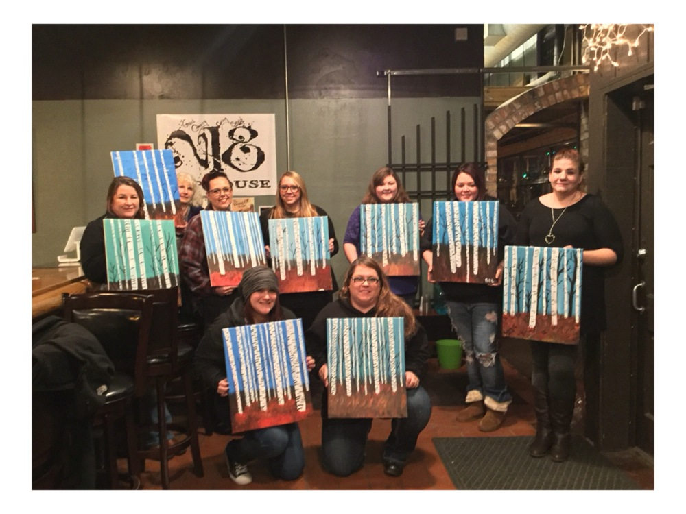 Paint Night at The Shop Cofee House