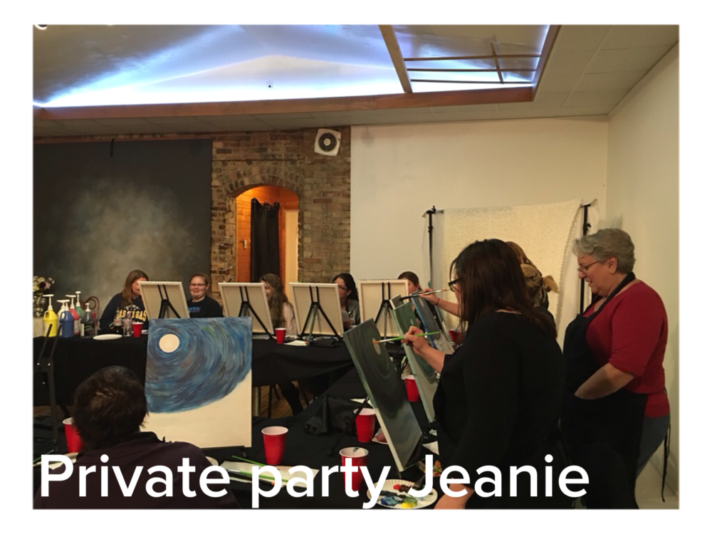 Private party for Jeanie
