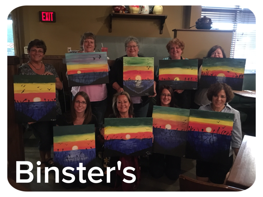 Paint Event at Binster's