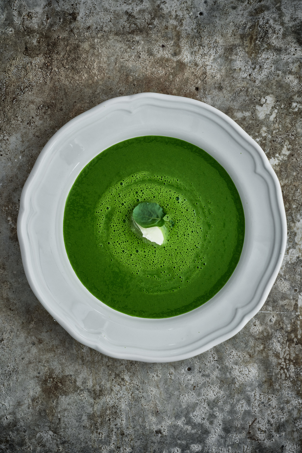 WATERCRESS SOUP Photograph © Jean Cazals 2015.