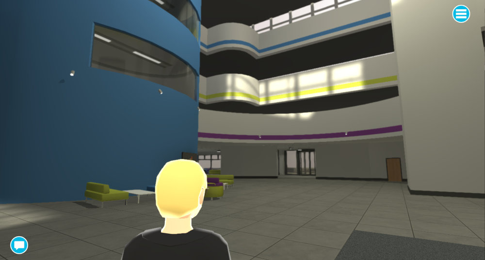 Our virtual iCentrum looks just like the original building