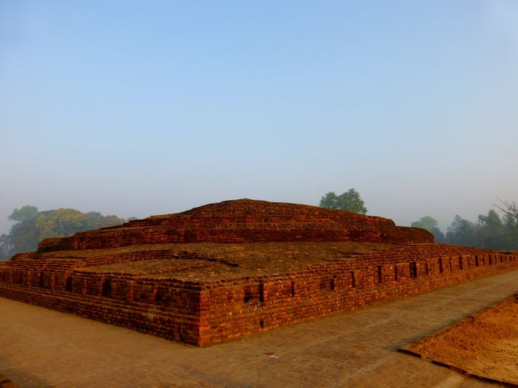The Piprahwa stupa
