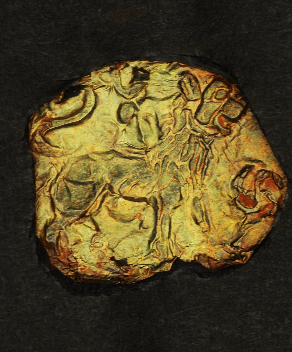 RTI IMAGE OF SINGLE GOLD LEAF DISC