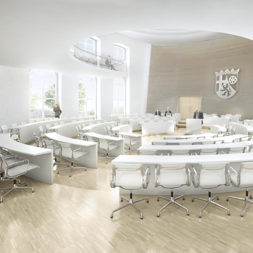 h4A Architekten: Landtag Rheinland-Pfalz