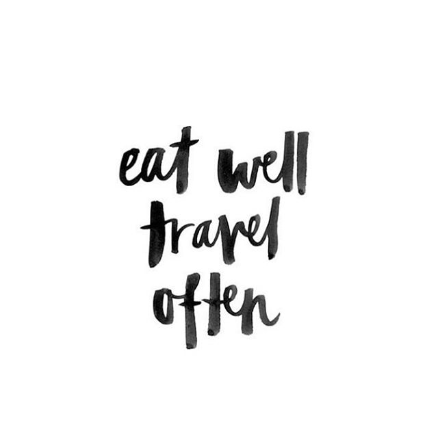 No excuses! #eatwell #travel #behealthy #heath #wellness #bodyandmind #travel #quotes