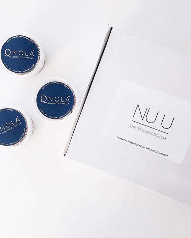Sneak peak of Novembers box 👀 #nuubox #qnola #quinoa #health #snacks #breakfast #mindbodyandsoul #wellbeing #mindfulleating