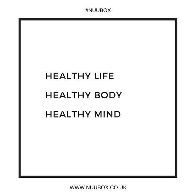 STAY HEALTHY - Nu U Box aims to inspire wellness from the inside and out, with a collection of some of the latest in natural beauty products, healthy snacks and supplements.  #nuubox #subscriptionbox #wellness #health #healthfoods #fitspo #mindfulness #healthybody #healthymind