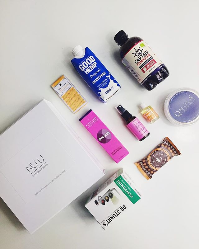 Our surprise December box has now been shipped! Let's take a look at the wellness goodies in last months box!  #nuubox #kombucha #powderblends #quinoa #cocoa #raw #health #oils #organic #beauty #moringa #antioxidants #rose