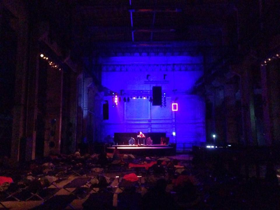 Somatic DJing for horizontal crowds. Emotional pulls through abstracted Pop-scapes. Audience is laying down on beds.  Here is a link of the live recording at the premiere at Maerzmusik 2016 . Hope you enjoy the trip. New dates in October 2016 in Sao Paulo, details will follow.   Recording by MM2016. Special Thanks to: Berno Odo Polzer and the amazing team of Maerzmusik, Valentina Desideri, Matt Hare and all my friends at PAF.
