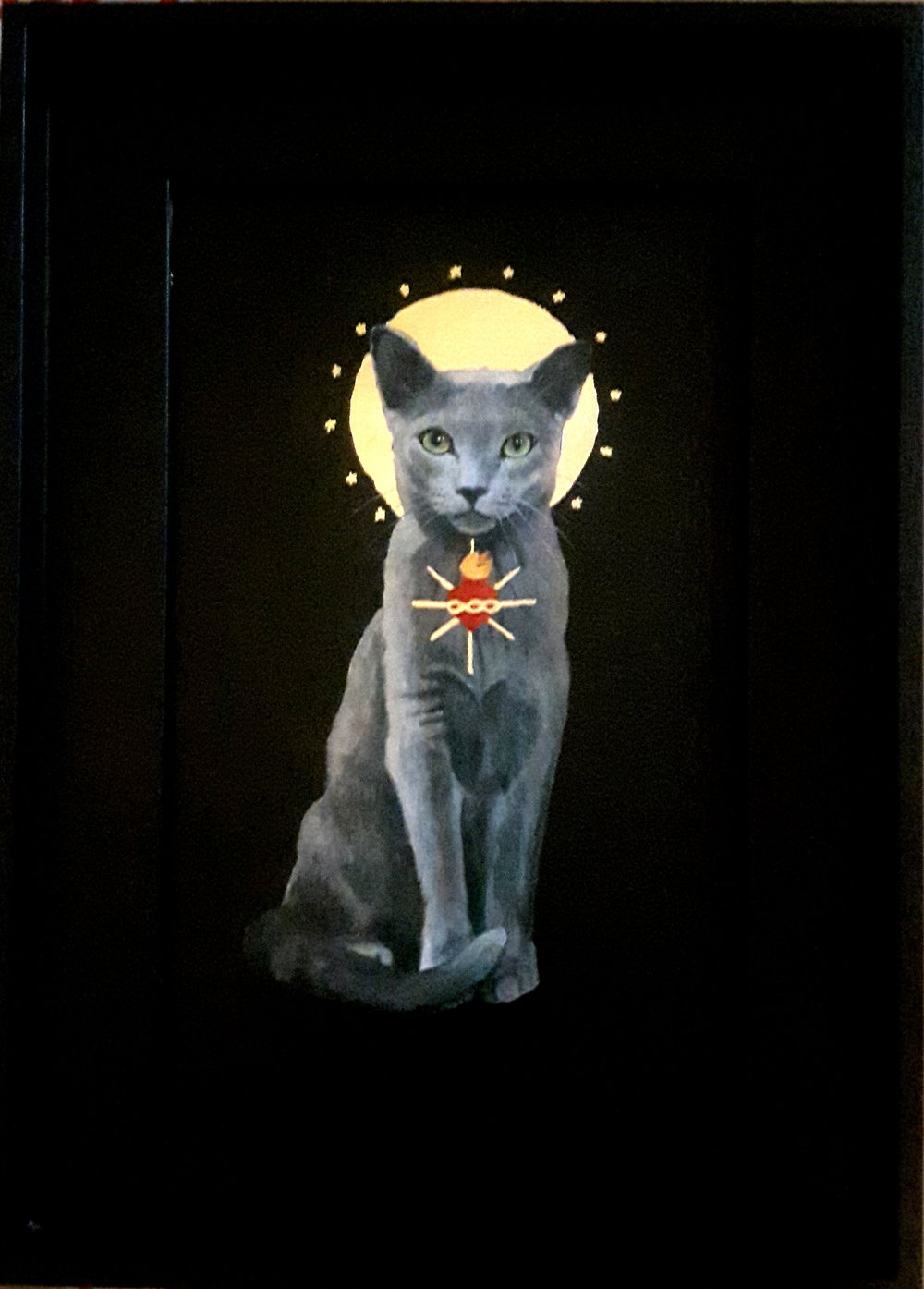 Sacred Cat - Russian