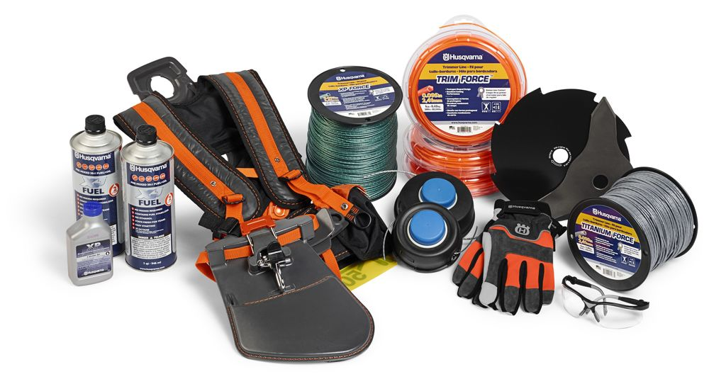 accessories from the husqvarna range