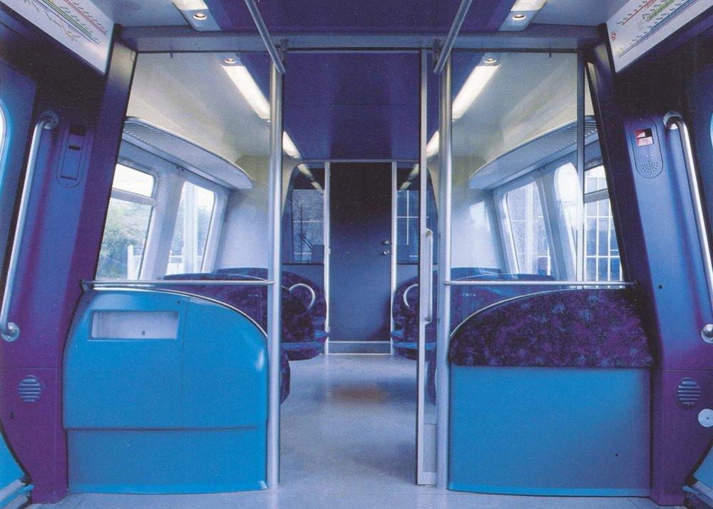 CITYTRAIN interior arrangements by Pelikan Design dk NIELS
