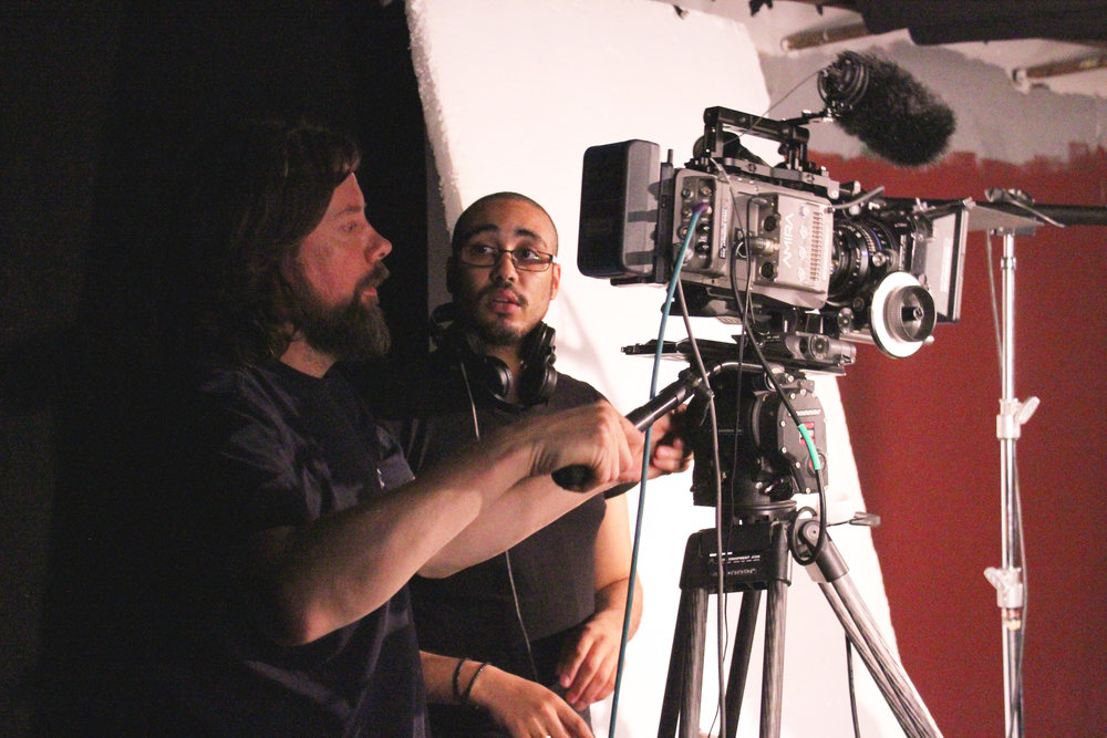 David Knight (DOP) and Jon Gibson (Sound)