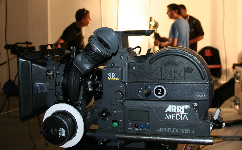 Work with Professional grade equipment in film & digital -