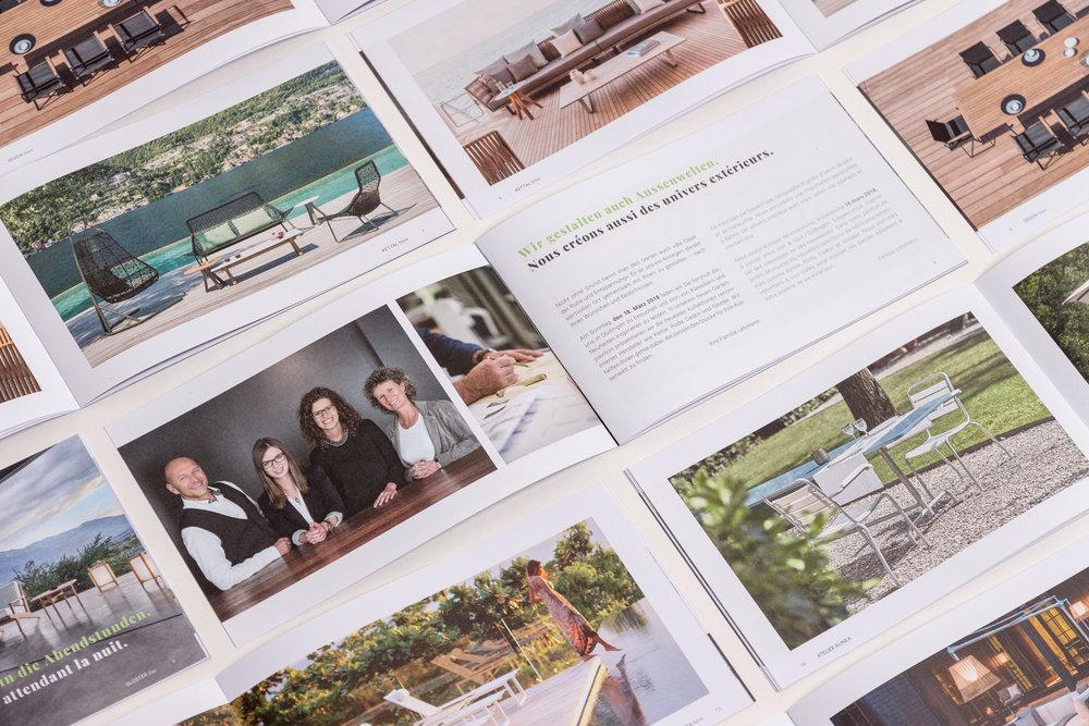 Möbel Lehmann - Graphic Design | Editorial Design