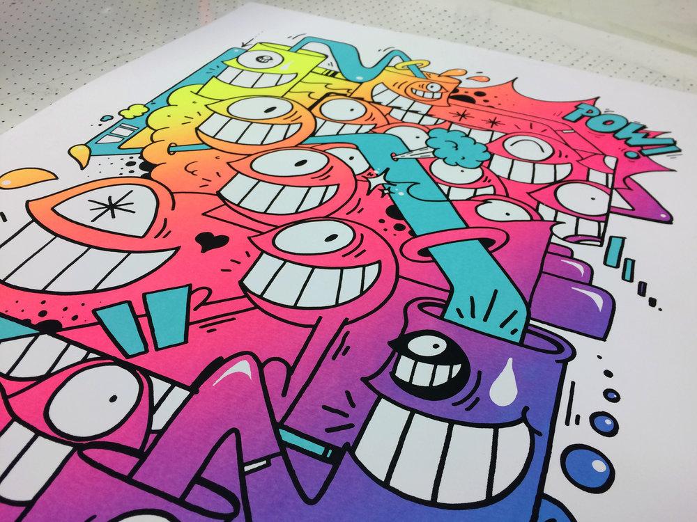 Client - Edition Fifty / Artwork - El Pez