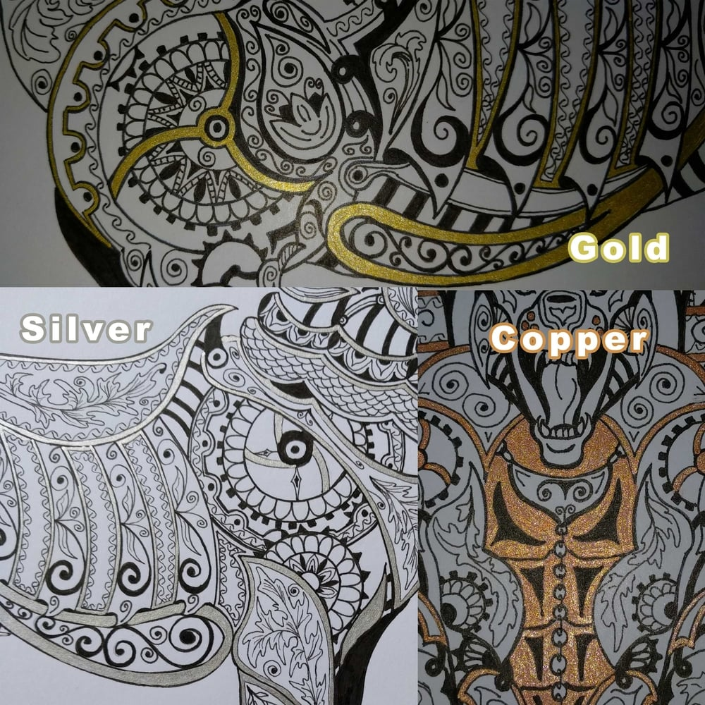 Steampunk Collection - Metallic Embellish Colors
