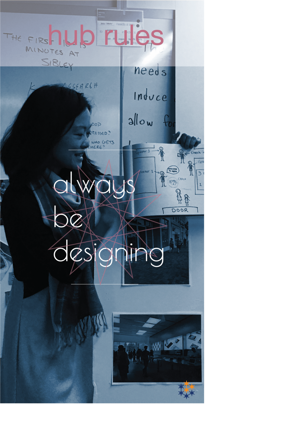 Rule 2 A.B.D! - always be designing!