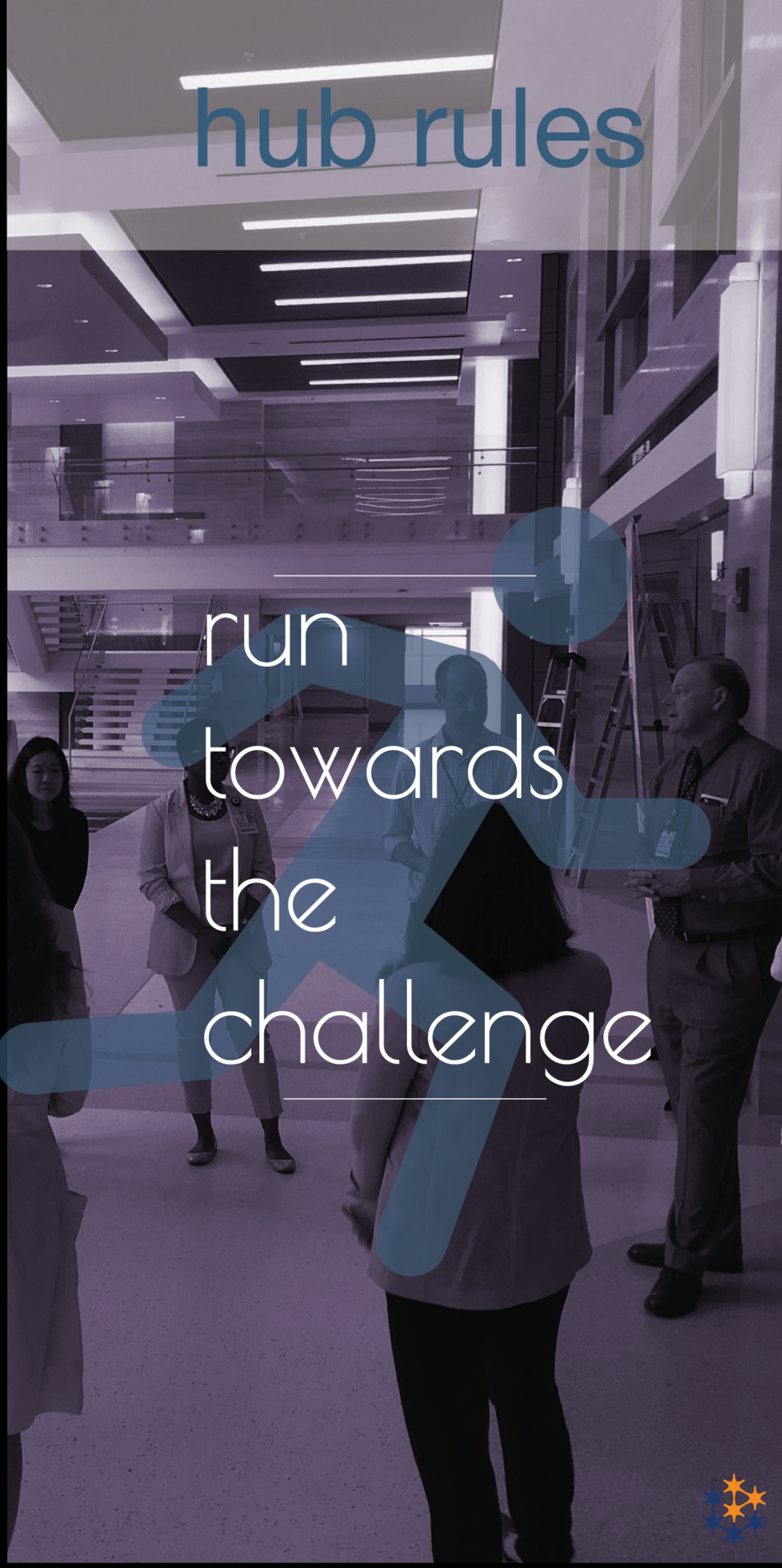 Rule 4Run TowardsThe Challenge - because it CAN be solved!