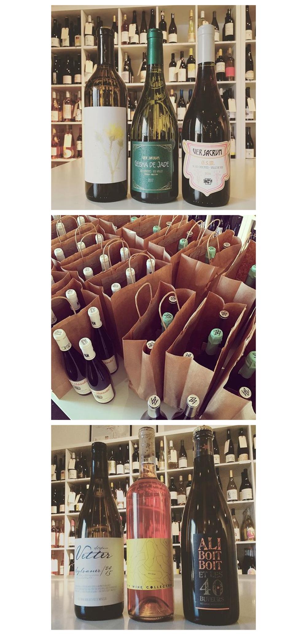 bottle service wine club