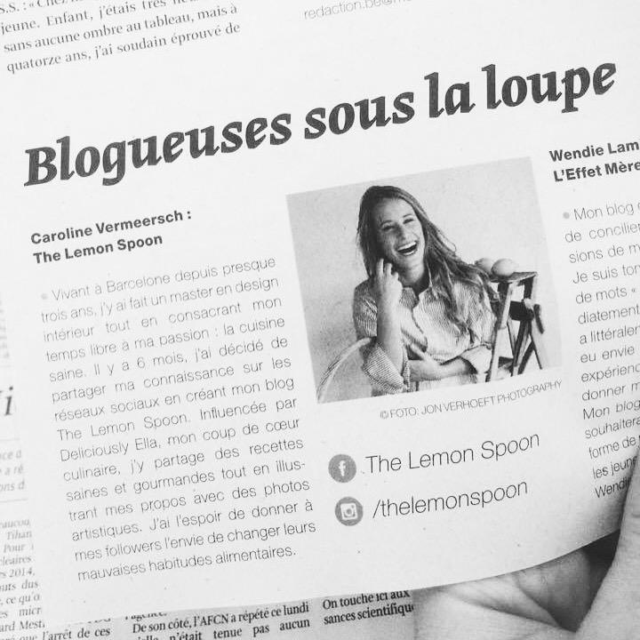 LA LIBRE BELGIQUE  en ligne Septembre 2015   Media Planet, santé féminine