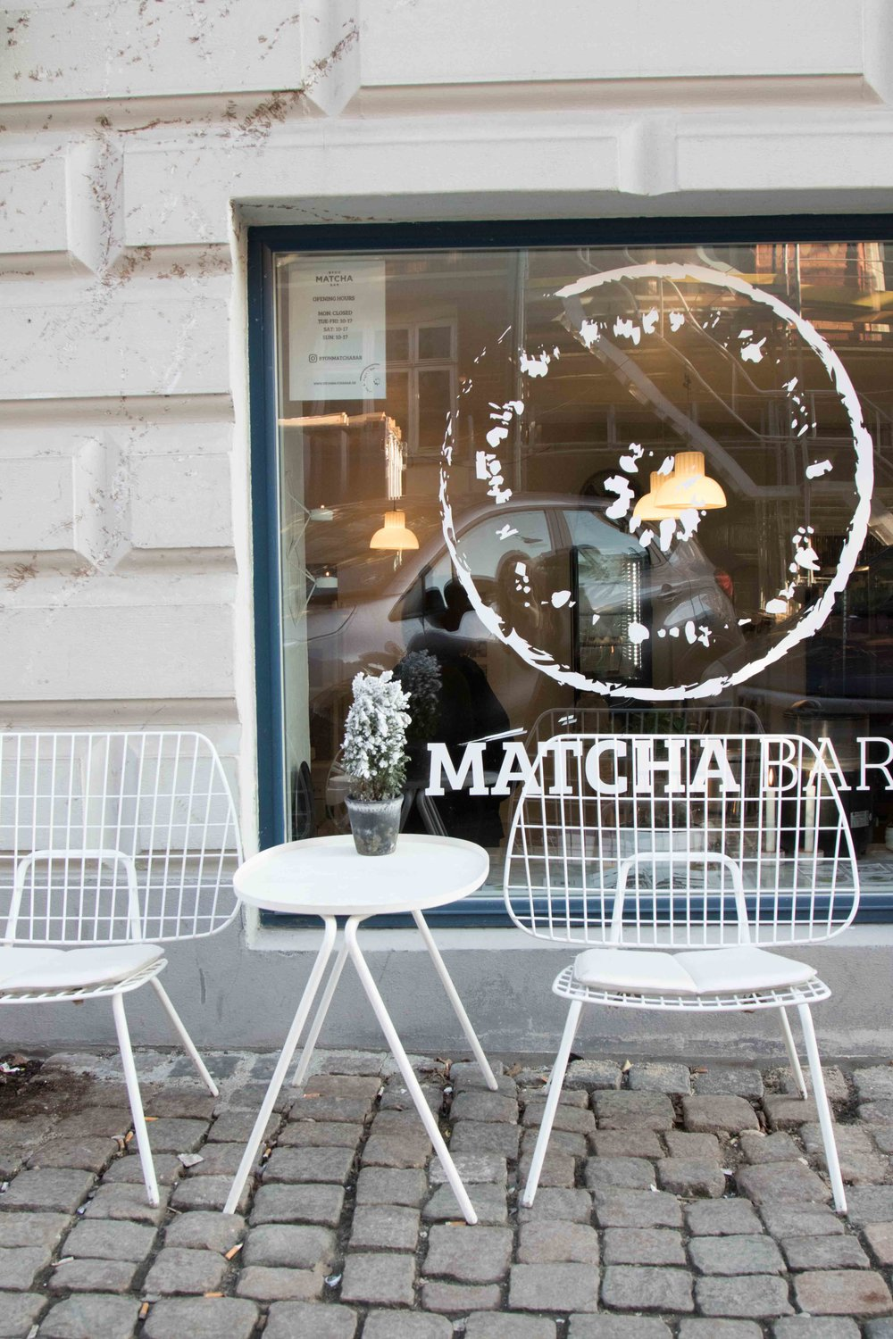 By oh matcha bar Copenhagen