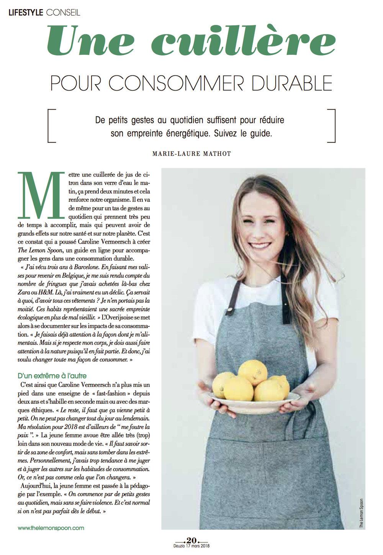 L'AVENIR   Print Magazine Mars 2018