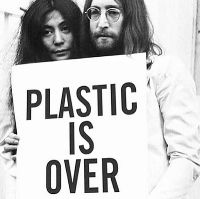 Bye bye plastic 👋🏻 #startthechange