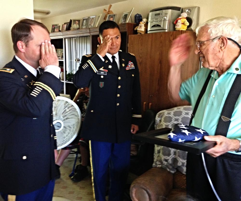 Corporal Gordon Rolfson US Army