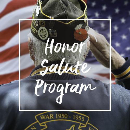 Honor Salute Veteran Program