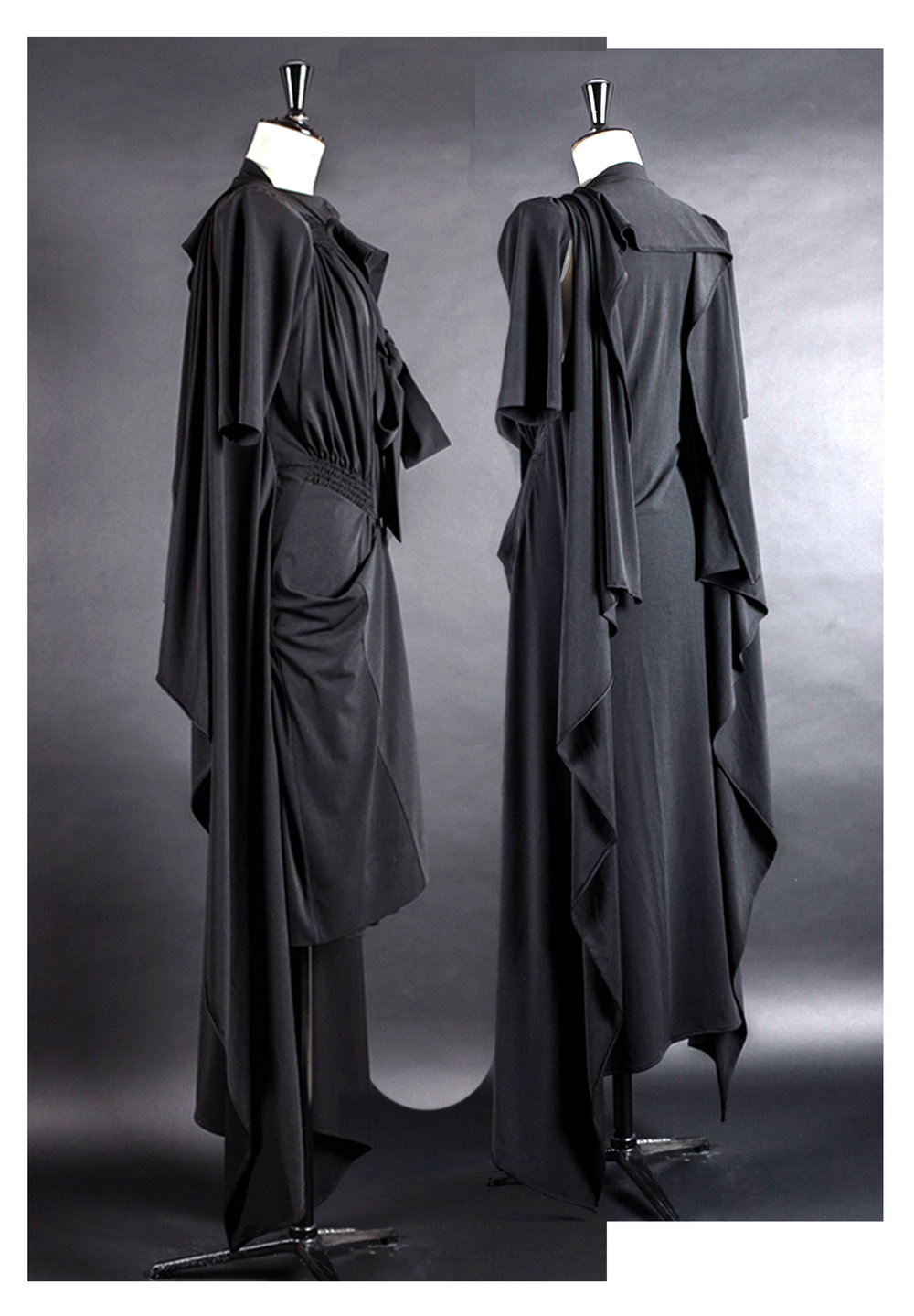 DRESS ltd Flat Pack Sculpture Maxi Dress, from NEW BLACK CAPSULE COLLECTION