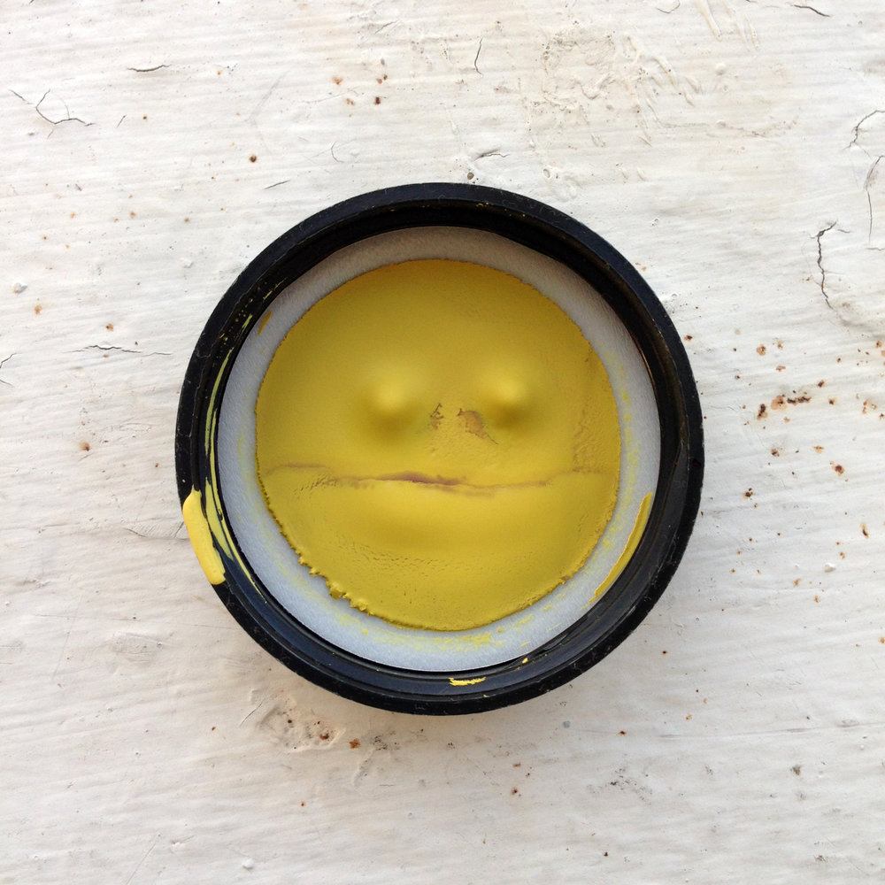 DRESS label INTO COLOUR SS16 gallery: Yellow Paint Smiley