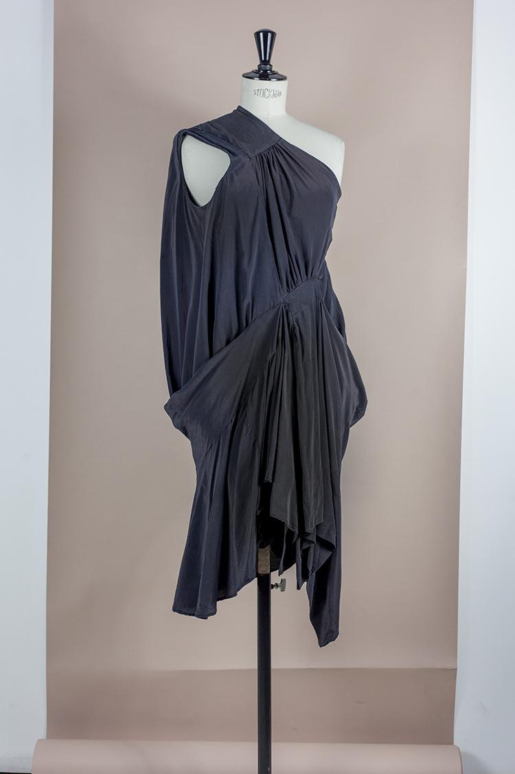 DRESS Black Phase Collection SS16 Black Wash Archive HALF AVANT TOGA/CIRCULAR DRESS Dress-Ltd