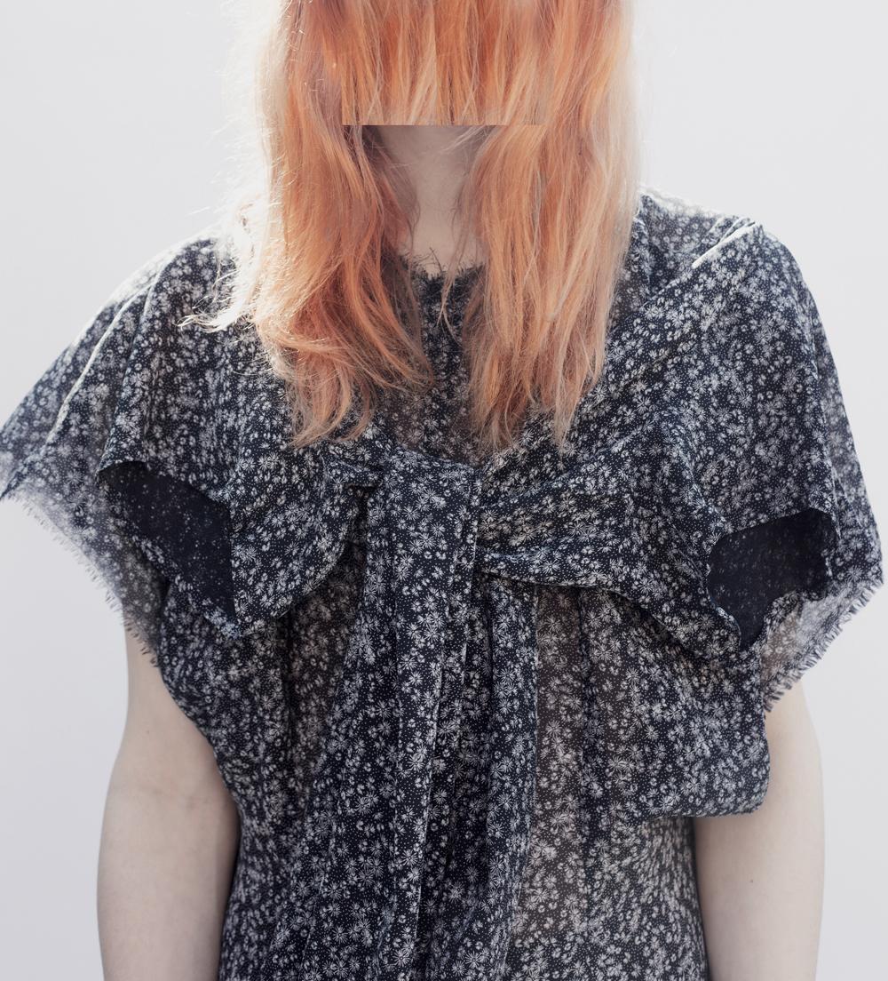 DRESS CRISIS collection Navy Flower Dress Set no.3 #dressltd