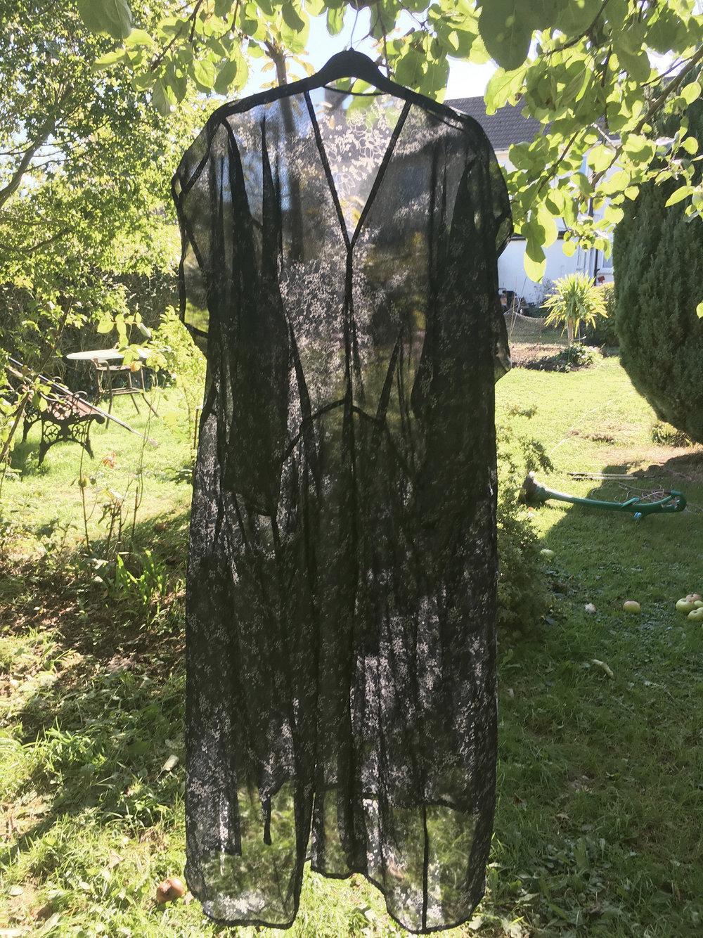 DRESS REHAB Double Front Flat Pack Dress in Navy Floral Viscose #dressltd