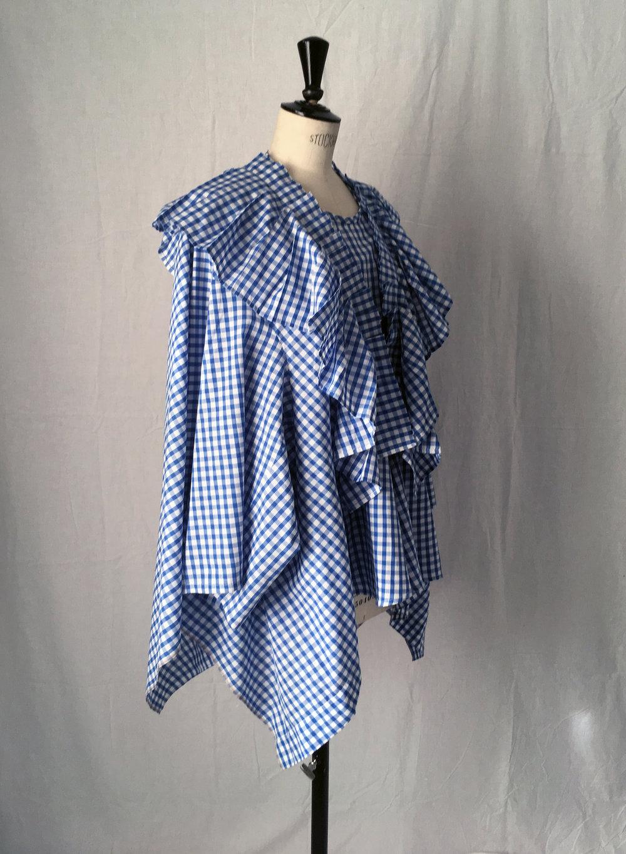 DRESS LTD Supersized (table cloth) FLAT PACK HALF DRESS…a kind of prairie kaftan #dressltd