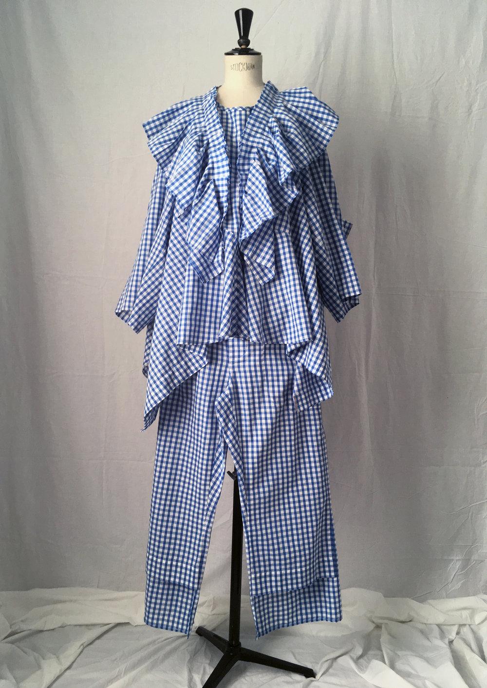 DRESS LTD Dorothy's Pyjamas Set 2: FLAT PACK HALF DRESS & FLAT PACK PYJAMA Trousers - #dressltd