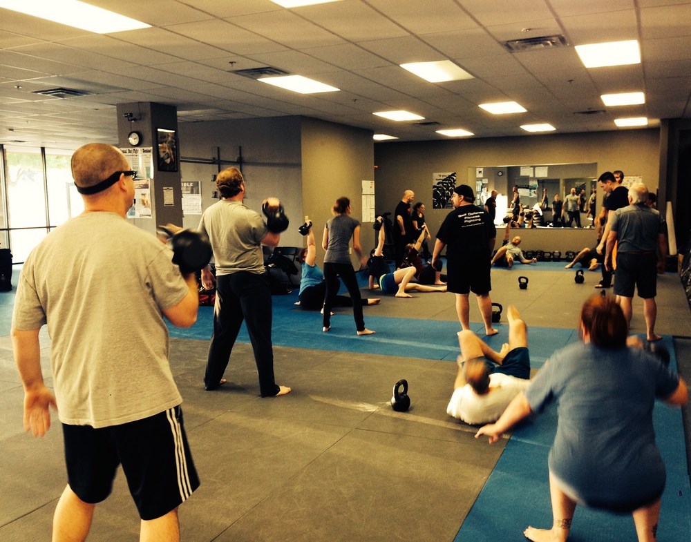 KETTLEBELL CLASS IN PLANO