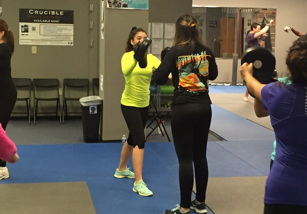 WOMEN'S SELF-DEFENSE COURSES