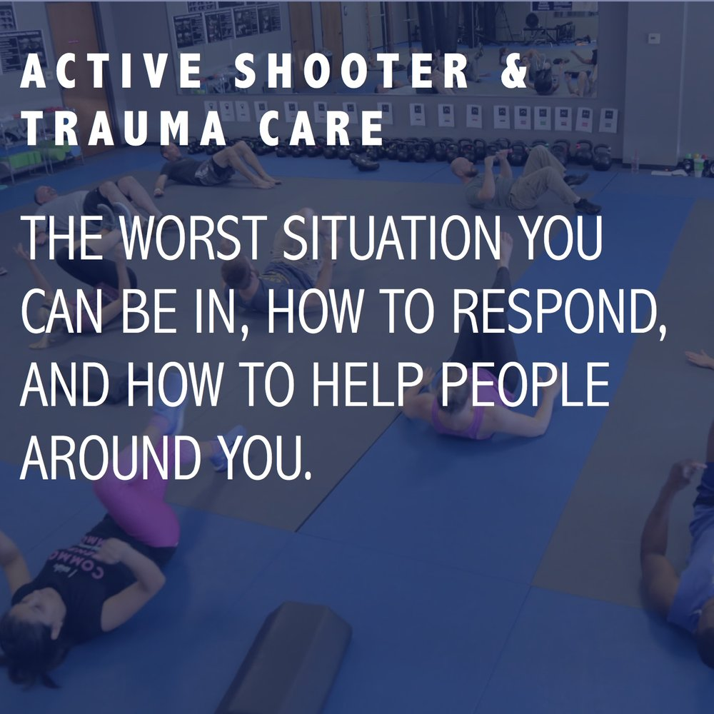 ACTIVE SHOOTER & TRAUMA CARE