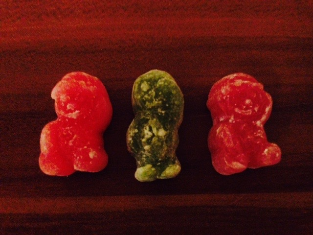 Jelly Babies on holidays