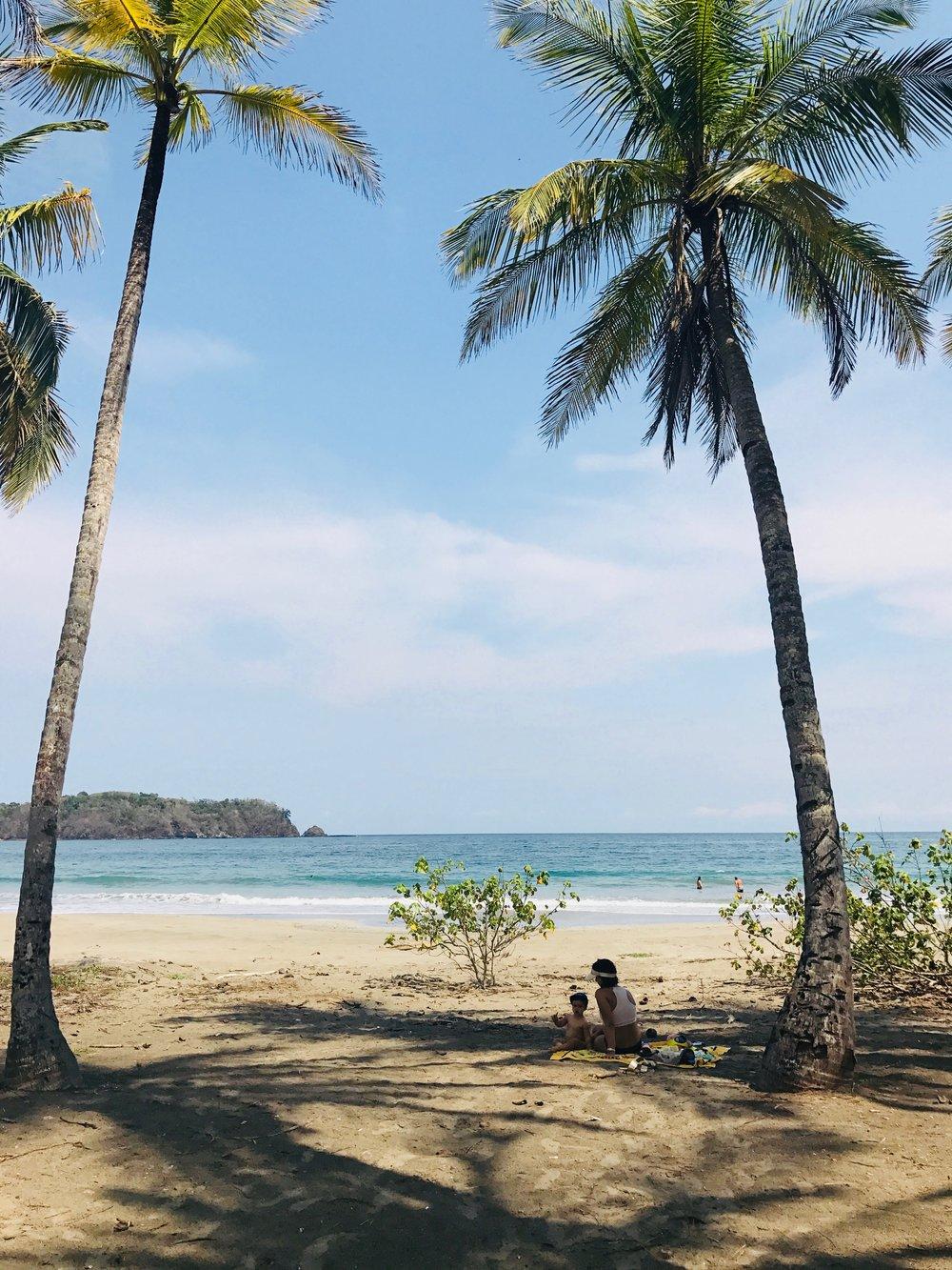 Carillo Beach, Costa Rica. Happy days!