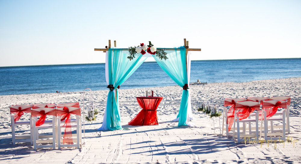 Beach weddings In Gulf Shores