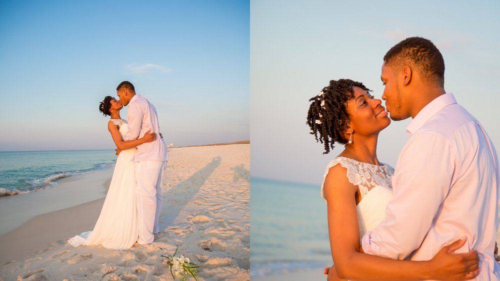 Sunrise wedding