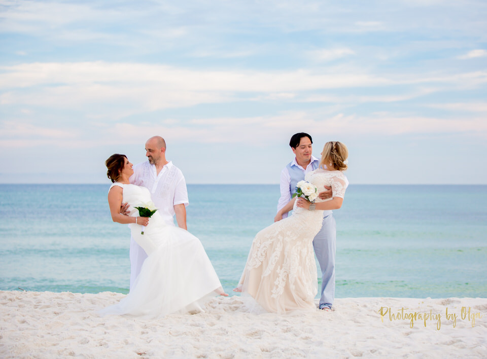 Pensacola Weddings on the beach