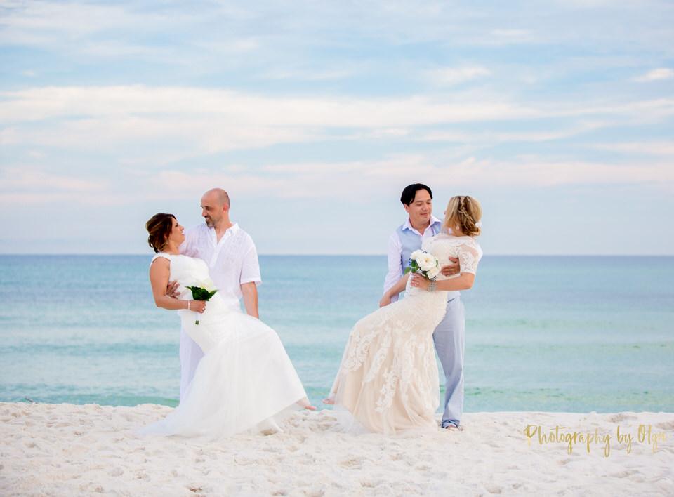 Pensacola Weddings on the beach