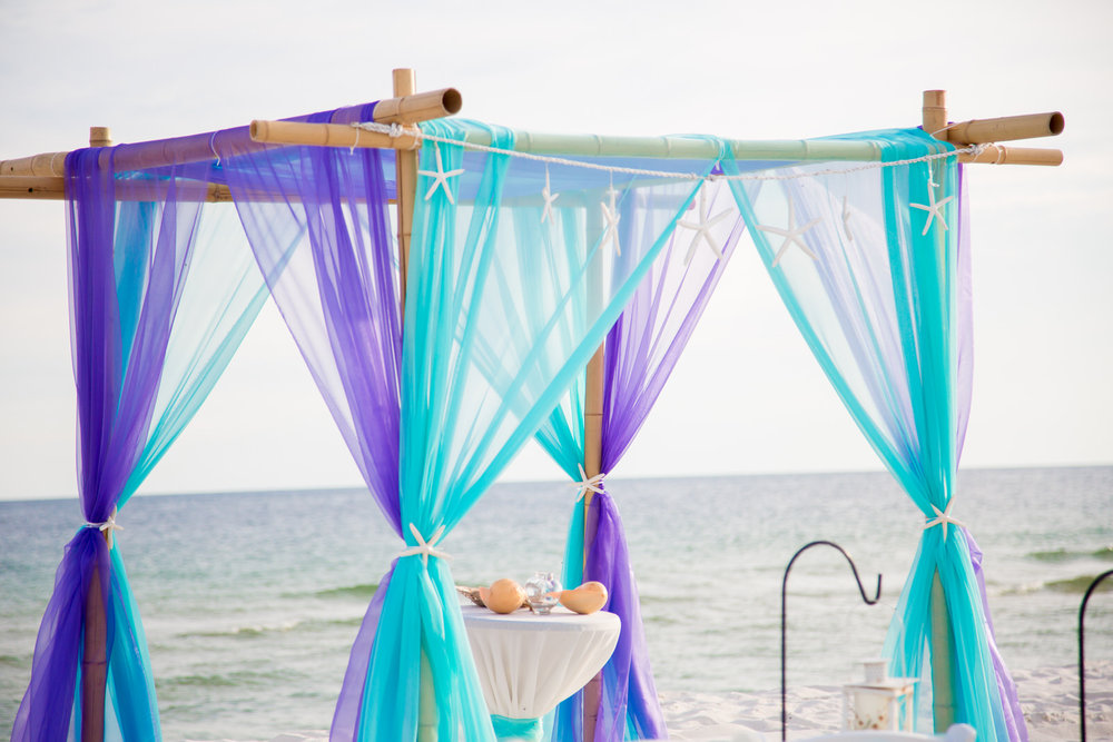 Beach weddings and receptions