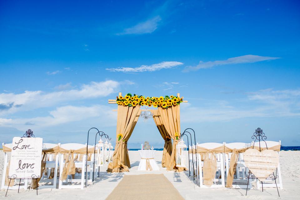 wedding setup idea