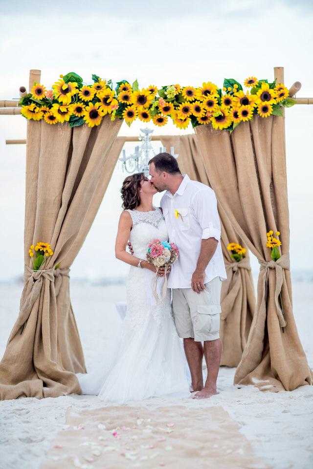 your dream beach wedding