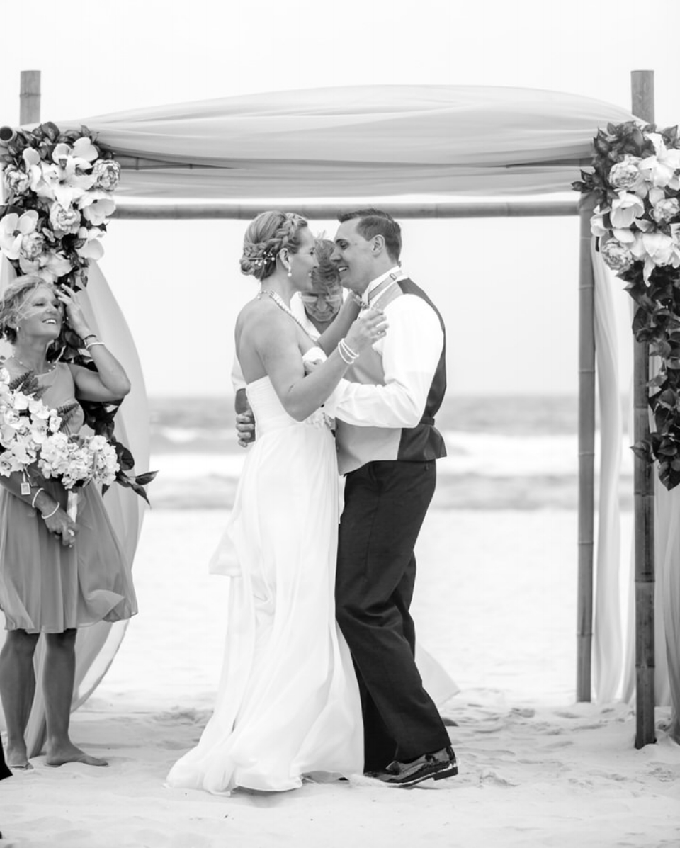 beach wedding alabama